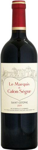 ル・マルキ・ド・カロン・セギュール2013年750ml(フランスボルドー・赤ワイン)