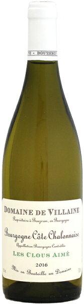 2016 ドメーヌ・ド・ヴィレーヌブルゴーニュ・コート・シャロネーズレ・クルー・エメブラン750ml(白ワイン)