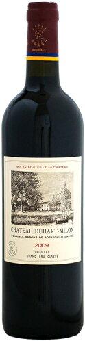 シャトー・デュアール・ミロン・ロートシルト[2009]750ml【ボルドー09】(フランスボルドー・赤ワイン)