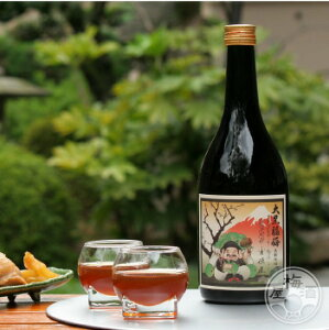 日本の贅沢な甘味を味う大黒福梅 1800ml【河内ワイン/大阪】