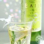 梅丈-BAIJO-レモングラス梅酒500ml【エコファームみかた/福井】