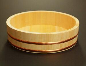 【送料無料】木曽さわらの厚口飯台【寿司桶・飯切】日本製 30cm