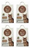 【在庫SALE】【送料無料】【緊急値下げ】猫砂 桐の木 猫砂セレブ 高級猫砂 6L×4袋 ウミダスジャパン 天然の木97%だから猫ちゃんも安全安心!!