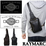 ボディバッグ メンズ レディース 防水 ワンショルダーバッグ 斜め掛け バッグ 通学 鞄 かばん 斜めがけ ワンショルダー ビンテージ風 レザー 革 レイマーク RAYMARC 002