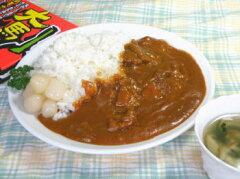 メール便で送料無料!馬肉と鹿肉を使った珍味カレー鹿肉は北海道のえぞ鹿の肉を使用!食べると...