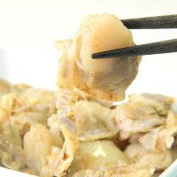 青森県むつ湾(陸奥湾)産の新鮮なホタテを使った帆立のやわらか煮
