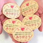 サンキューせんべい「サンクス ア ミリオン」プリント小判せんべいピロ個装(チビせん)