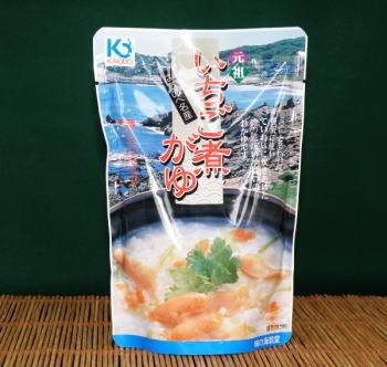 メール便なら送料込!ウニとアワビの贅沢ないちご煮で厳選した国産米をおかゆにしました。夏は...
