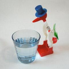 飲み始めたらとまらないドリンキングバード・水飲み鳥(Drinking Lucky Bird)