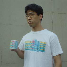 周期表Tシャツ 元素の立体周期表エレメンタッチ・Tシャツ