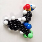 YYS原子ブロック「セレコキシブ分子(C17H14F3N3O2S)」