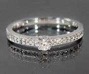 ダイヤモンド ピンキーリング ホワイト