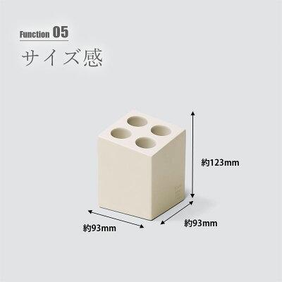 商品リンク写真画像:傘立てideaco mini cube 4本の寸法(UNLIMIT セレクトショップさんからの出展) ※傘掛けを作る前に使用していた傘立ての製品画像02