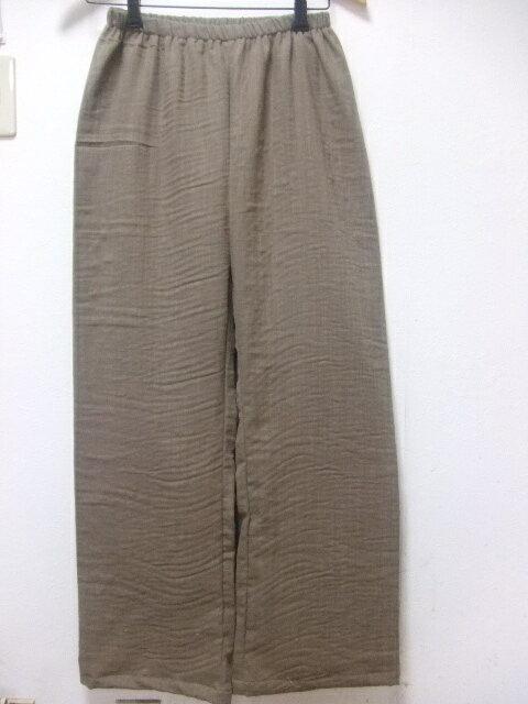 【大きいサイズ4L〜5L】スラブダブルガーゼ・無地・ステテコ・ロング(95cm〜110cm)(8色)(日本製)