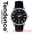 【海外取寄せ】【今だけ限定価格】【日本未発売モデル】TENDENCE テンデンス 腕時計 時計 スリム SLIM 41 TG132002 TE132002 ブラック シルバー