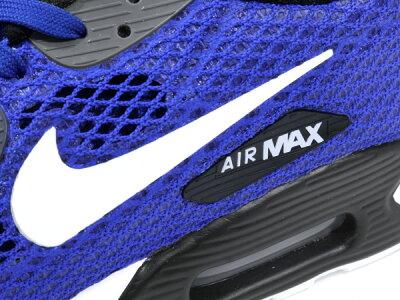 NIKEAIRMAX90ULTRABRPLUSQS(810170-401)Racerblue/white-darkgrey【ナイキエアマックス90ウルトラBRプラスクイックストライク】
