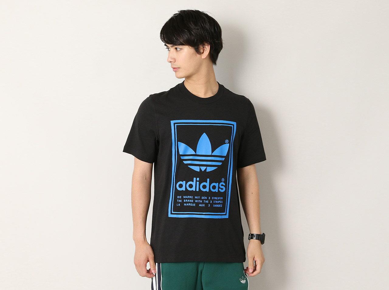 トップス, Tシャツ・カットソー adidas VINTAGE TEE(ED6918)T