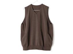 crepuscule wholegarment vest(2001-009)【クレプスキュール ホールガーメント ベスト】【メンズ】【ベスト】【チョッキ】【ジレ】【ウエストコート】【ストアレビュー記載でソックスプレゼント対象品】