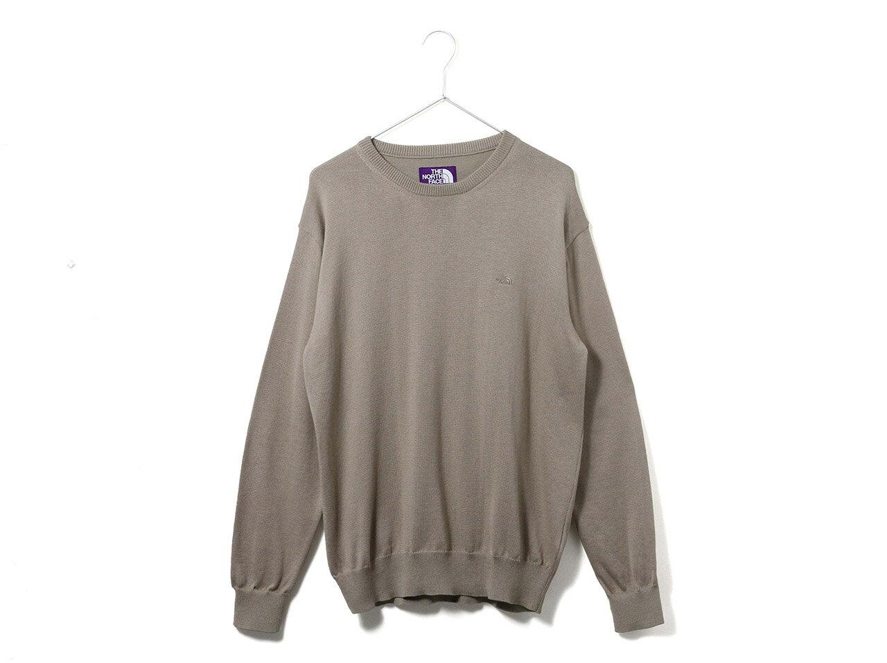 トップス, スウェット・トレーナー THE NORTH FACE PURPLE LABEL Pack Field Sweater(NT6900N)