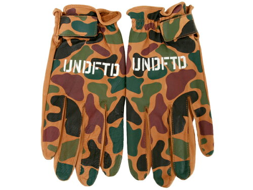 UNDEFEATED PAC-3 Leather Camo Gloves(132-530001)【アンディフィーテッド PAC-3 レザーカモグロ...