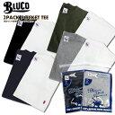 BLUCO ブルコ ポケット付 半袖Tシャツ 2枚セット B...