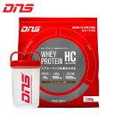 ☆DNS プロテイン ホエイプロテイン HMB & クレアチン ビターチョコレート 1050g ハン