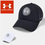 ☆アンダーアーマー クリアランス キャップ ゴルフ キャップ ジョーダンスピース 接触冷感 メンズ 帽子 1351443 UNDER ARMOUR あす楽対応可