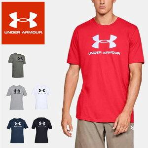 ☆ネコポス アンダーアーマー クリアランス メンズ 半袖Tシャツ UA Sportstyle Logo SS 1358574 スポーツウェア UNDER ARMOUR あす楽対応可