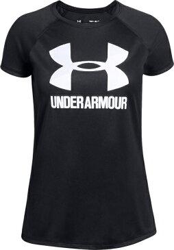 セール価格 公式 アンダーアーマー UNDER ARMOUR ジュニア tシャツ UAビッグロゴソリッドショートスリーブ トレーニング トレーニングウェア フィットネス ウェア Tシャツ ガールズ 1331678 トレーニング tシャツ メンズ ブランド