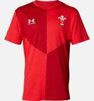 【公式】アンダーアーマー(UNDER ARMOUR)UAウェールズ代表 グラフィックTシャツ(ラグビー/Tシャツ/BOYS) トレーニング tシャツ メンズ ブランド