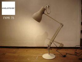 SALEANGLEPOISE/アングルポイズTYPE75デスクランプライト照明イギリスホワイト定価28,080円展示入れ替えの為割引価格にて【新品/店頭展示品】