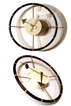 George Nelson/ジョージネルソン Steering Weel Clock/ステアリングウィールクロック ミッドセンチュリー 掛時計 リプロダクト品 ネルソンクロック【新品】