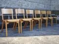 北欧(ポーランド)デザインFAMEGのスタッキングチェア デンマーク家具等との愛称良いです。
