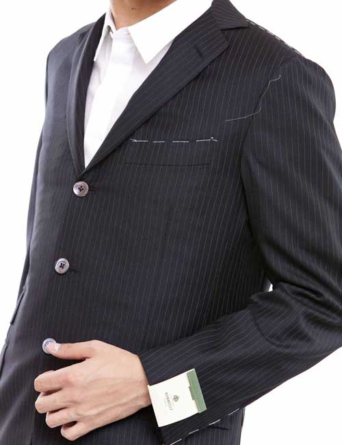 ルイジボレッリ LUIGI BORRELLI スーツ メンズ 202F10.6 ブラックアウトレット G-SALE:アンダーウェア