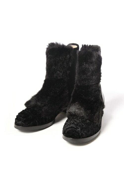 ヌメロヴェントゥーノ N°21 ブーツ レディース 8666 ブラック:アンダーウェア