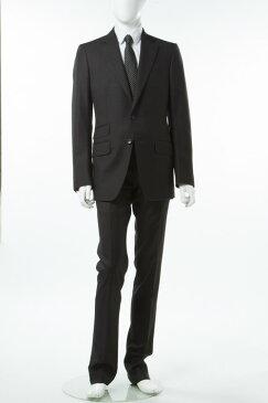 2017年春夏新作 トムフォード TOM FORD スーツ 2つボタン シングル 7R メンズ 922R97 21YA4C R ブラック 送料無料