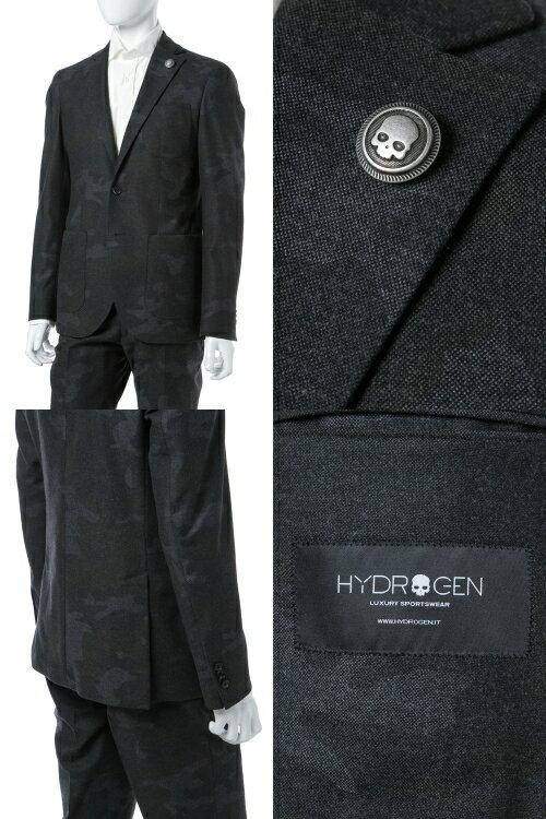 ハイドロゲン HYDROGEN スーツ 2つボタン サイドベンツ シングル メンズ 190300 ANTHRAメイサイ  楽ギフ_包装 【ラッキーシール対応】