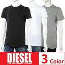 ディーゼル DIESEL Tシャツアンダーウェア Tシャツ 半袖 丸首...