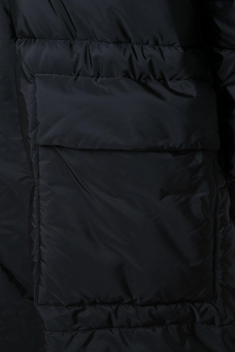 ステラマッカートニー STELLA McCARTNEY ダウンコート ベンチコート メンズ 479815 SJN09 ブラック  【ラッキーシール対応】