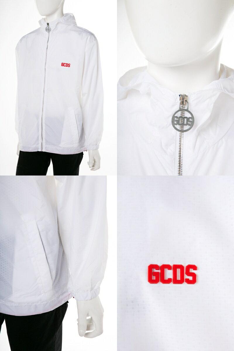 ジーシーディーエス GCDS ブルゾン マウンテンパーカー 01 メンズ CC94M040183 ホワイト  2019年春夏新作 【ラッキーシール対応】