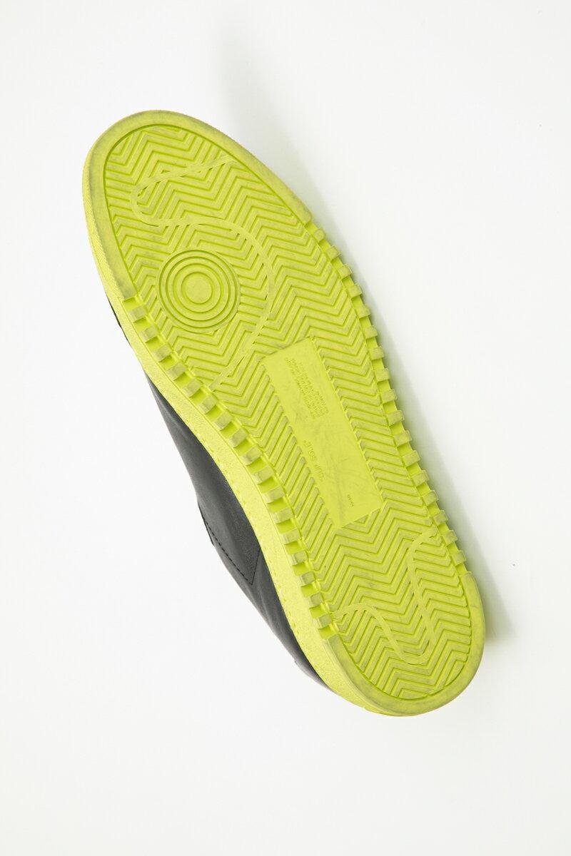 オフホワイト OFF-WHITE スニーカー ローカット シューズ 靴 メンズ IA042E19 D68048 ブラック×イエロー  2019年秋冬新作 【ラッキーシール対応】
