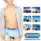 OUTDOORPRODUCTS(アウトドアプロダクツ)ツーリストスポットシームレスボクサーパンツ/メンズ