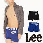 Lee(リー)チェッカーゴムボクサーパンツ/メンズ