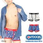OUTDOORPRODUCTS(アウトドアプロダクツ)ディズニーフレンズボクサーパンツ/メンズ