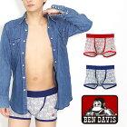 BENDAVIS(ベンデイビス)スターロゴソウガラボクサーパンツ/メンズ
