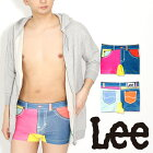 Lee(リー)クレイジーカラーシームレスボクサーパンツ/メンズ