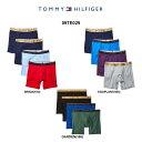 (SALE)TOMMY HILFIGER(トミーヒルフィガー)ミドルボクサーパンツ 4枚セット メンズ 09TE029