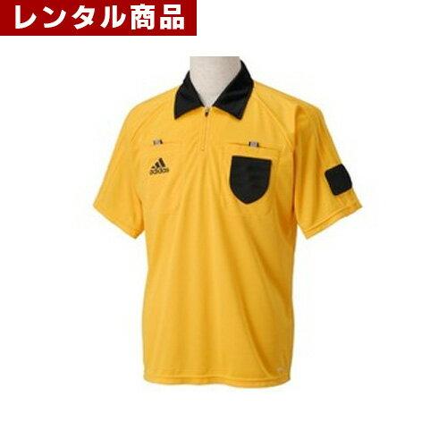 【レンタル】 フットサル・サッカー用審判ユニフォーム 上下セット