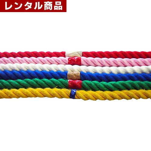 【レンタル】 綱引き 10m 紅白手旗セット