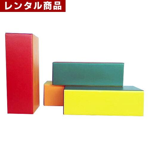 【レンタル】 ジュニアブロック (直方体・25*75*25cm) 1本